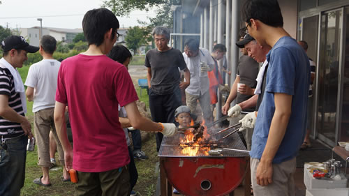 photo:barbecue party