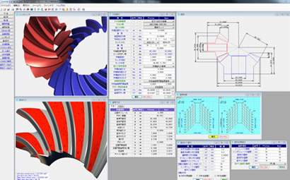Bevel gear tooth surface design software